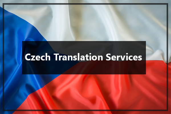Czech Translation Services