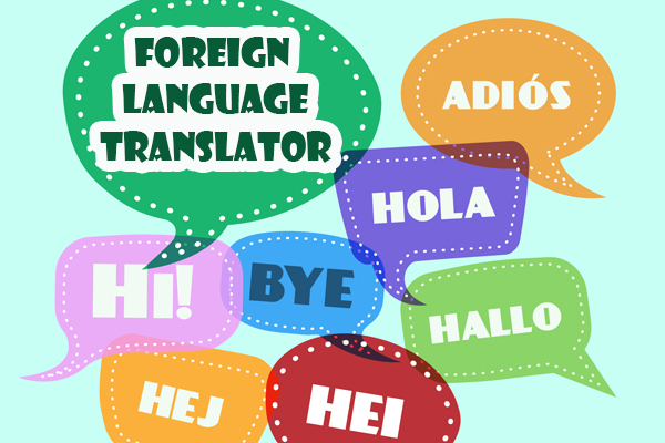 Foreign Language Translator